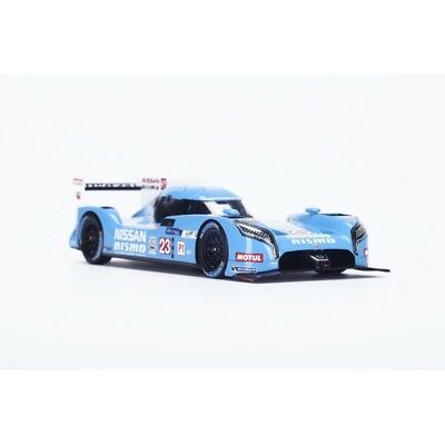 Nissan Gt-R Lm Nismo Lmp1 Manchester City Fc 2015 Light Blue Spark 1:43 S4561 Mo