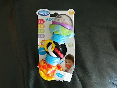 New Baby Toy Super Shaker By Playgro Age 3m+ BPA Free