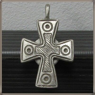 Ancient Silver Byzantine ** CROSS **AMAZING**TOP**