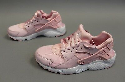 281323a2a Nike Huarache Run SE GS Girl's Running Shoes Prism Pink MM1 904538-600 Size  7Y