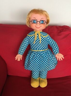 Mrs Beasley Doll 1967 by Mattel * All Original * Cleaned/Restored to Talk