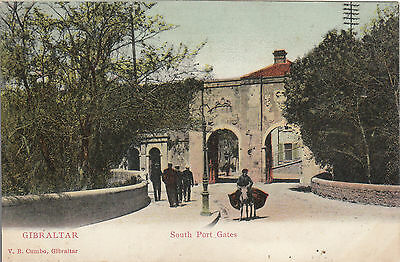 South Port Gates, GIBRALTAR - V. B. Cumbo