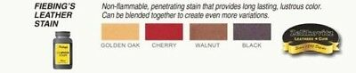 Fiebing's Leather Stain - 4 Colors