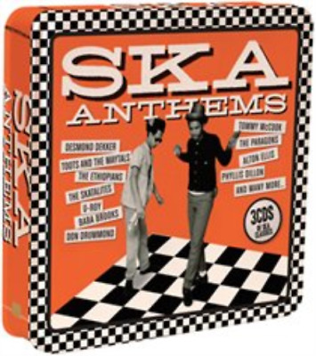 Various Artists-Ska Anthems  CD (Tin Case) NEW
