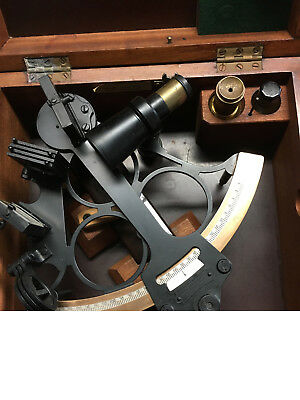 1945 Heath & Co No. 959 Hezzanith Ships Maritime Navigation Sextant