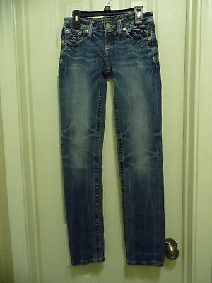 """Girls Size 14,  """"Miss Me"""" Skinny Denim Brand Jeans, Great Condition"""