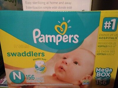 Pampers, Swaddlers Diapers, Newborn Size
