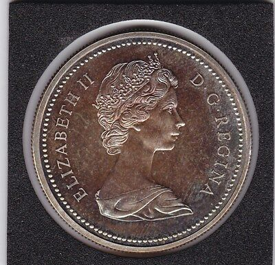 1971   Canada  - British Columbia - Large Silver  Proof   Dollar Coin