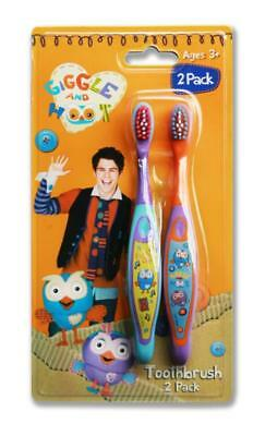 Giggle & Hoot Toothbrush Set