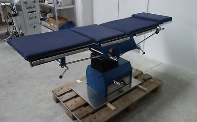 OP-Tisch Schmitz 121.105  mechanisch verstellbar - operating table - surgical
