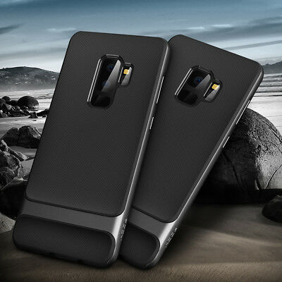 [ROCK]Samsung Galaxy S9 Plus/S9+ Case Slim Shockproof Armor Hybrid Rubber Cover