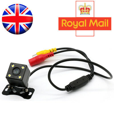 12V Car Vehicle Front Rear Camera Back View Cam Video Reversing Recorder UK