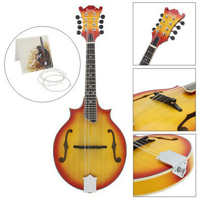 IRIN Silver-plated For Mandolin String E/A/D/G Set Musical Instrument Accessory