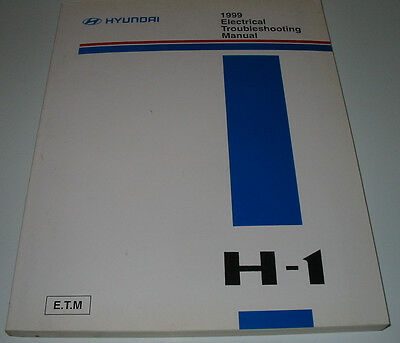 ELECTRICAL MANUAL Troubleshooting Hyundai H-1 Werkstatthandbuch ...