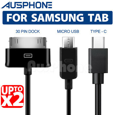 For Samsung Galaxy Tab S4 S3 2 10.5 7.0 10.1 Inch Tablet USB Data Charger Cable