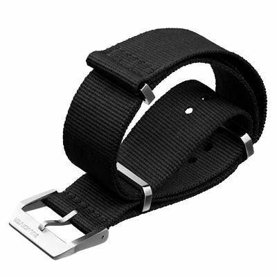 Swiss Style NATO Watch Strap with Premium Metal Hardware Buckle by ZULUDIVER®