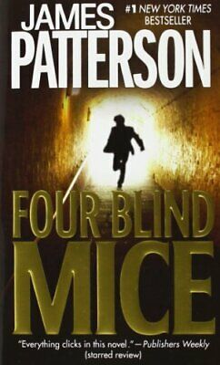 Four Blind Mice (Alex Cross Novels) by Patterson, James Book The Cheap Fast Free