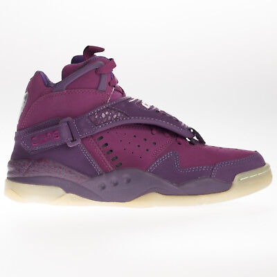 4813726b373a98 CONVERSE MENS AERO Jam Invader Mid Trainer Purple Strap Rubber Sole Lace up  - EUR 33