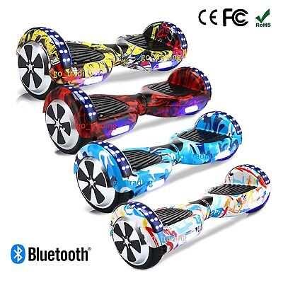 Swegway Hoverboard 6.5 Inch Self Balance Scooter Electric 2 wheel Bluetooth UK