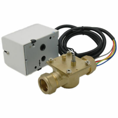 Esi 22Mm 2 Port Motorised Valve Central Heating Control Spare 5 Wire Eszv222L