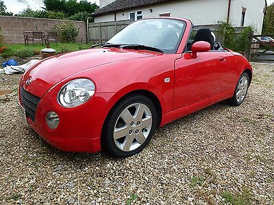 Dhaihatsu Copen 0.66L Turbo Fsh Red 2 Door Convertible In Very Good Condition