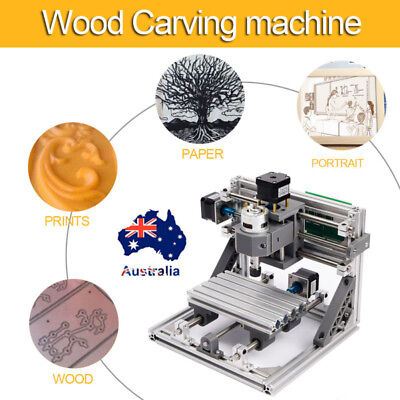 3Axis DIY CNC 1610 Wood Engraving Carving PCB Milling Machine Router Engraver AU