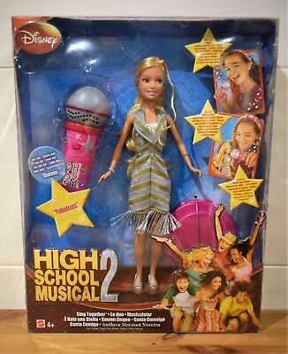 Disney High School Musical 2 Sing Together Doll And Microphone Set Fab Sharpay