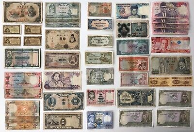 43 x Mixed Banknote Collection - Asia. (1904)