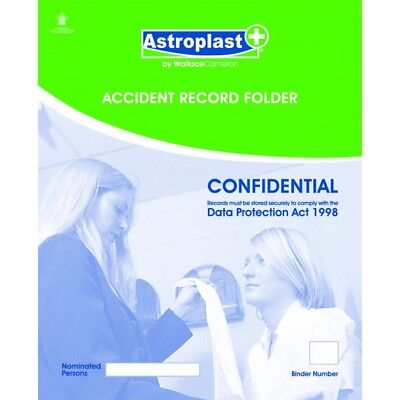 WALLACE CAMERON First Aid Accident Book - Pack of 30 - 1047079