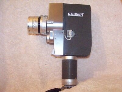 Petri Power Zoom 8Mm Movie Camera---- C.1964 & Extremely Rare......