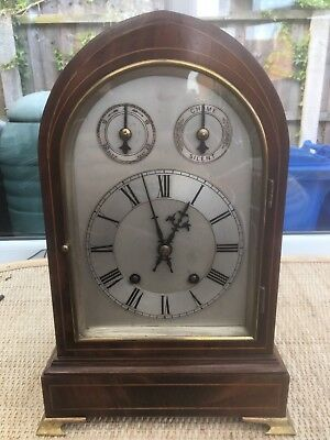 Antique  Very Large W&h Ting Tang Bracket Clock