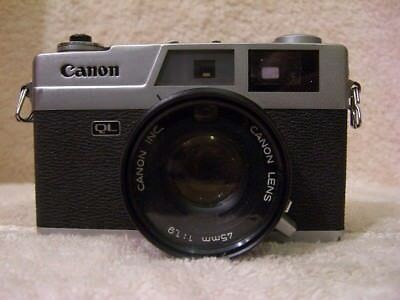 Canon Canonet Ql19 35Mm Camera