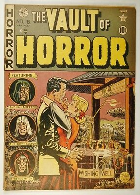 """The Vault of Horror #18 (Apr-May 1951, EC) """"The Sink-Hole!"""""""