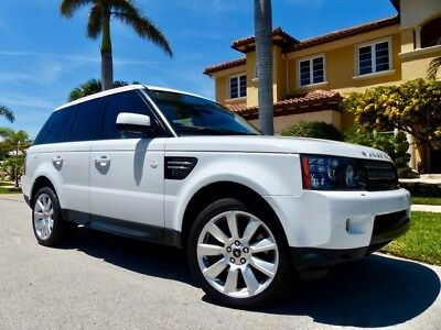 2013 Land Rover Range Rover Sport  ONLY 40k Miles Luxury Clean CARFAX  Florida Owned