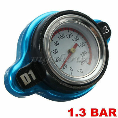 Car Moto 0.9Bar Thermo Thermostatic Radiator Cap Cover Water Temperature Gauge