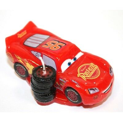 CARS LIGHTNING McQueen 3D Novelty Birthday Cake Candle Candles
