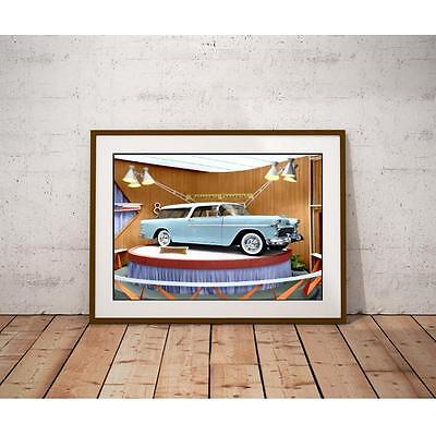 Nomad Classic Car 1955 Poster - Dealership Promotional Display