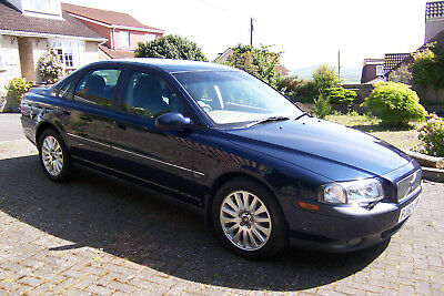 Volvo S80 2.4T Automatic Car, MOT, Turbo Metallic Blue 4 Door Saloon