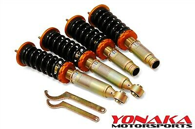 Yonaka Honda CR-V 96-01 Spec 1 Coilovers Suspension Shocks Springs Struts RD1