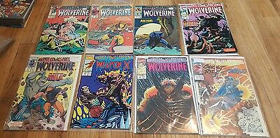 Marvel comics presents comic lot