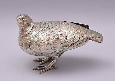 Beautiful Solid Silver Dove / Pigeon