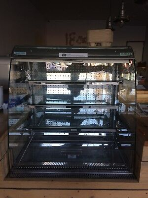 Commercial Open Front Fridge/Tiered Refrigerated Display