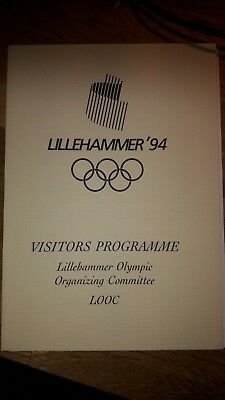 Winter olympic Lillehammer Visitors Programme LOOC