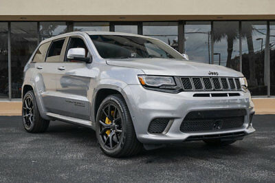 "Jeep Grand Cherokee Trackhawk 4x4 '18 Jeep Grand Cherokee Trackhawk, 707HP, Sig Leather,20""X10""Black Wheels,Pano"