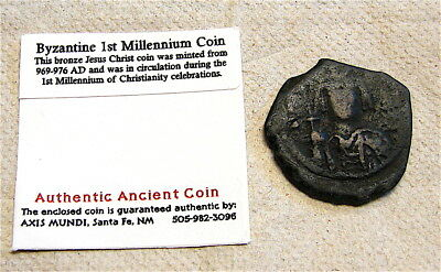 Ancient Byzantine Bronze ---From Old Collection--Authentic Coin---free ship