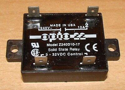 Solid State Relay opto 22 Z240D10-17 240 VAC 10 A