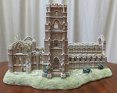 Lilliput Lane Fountains Abbey English Country Estates Collection 1994 Handmade