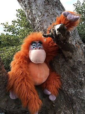 Disney Jungle Book  King Louie Orangutan Soft Plush Toy 14""