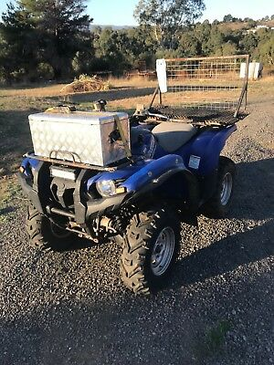 Quad Bike, pigging quad, Yamaha Grizzly 700