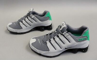 Nike Shox NZ SE Men s Running Shoes Wolf Grey Anthracite 833579-005 MM1 Size 864a30fbc